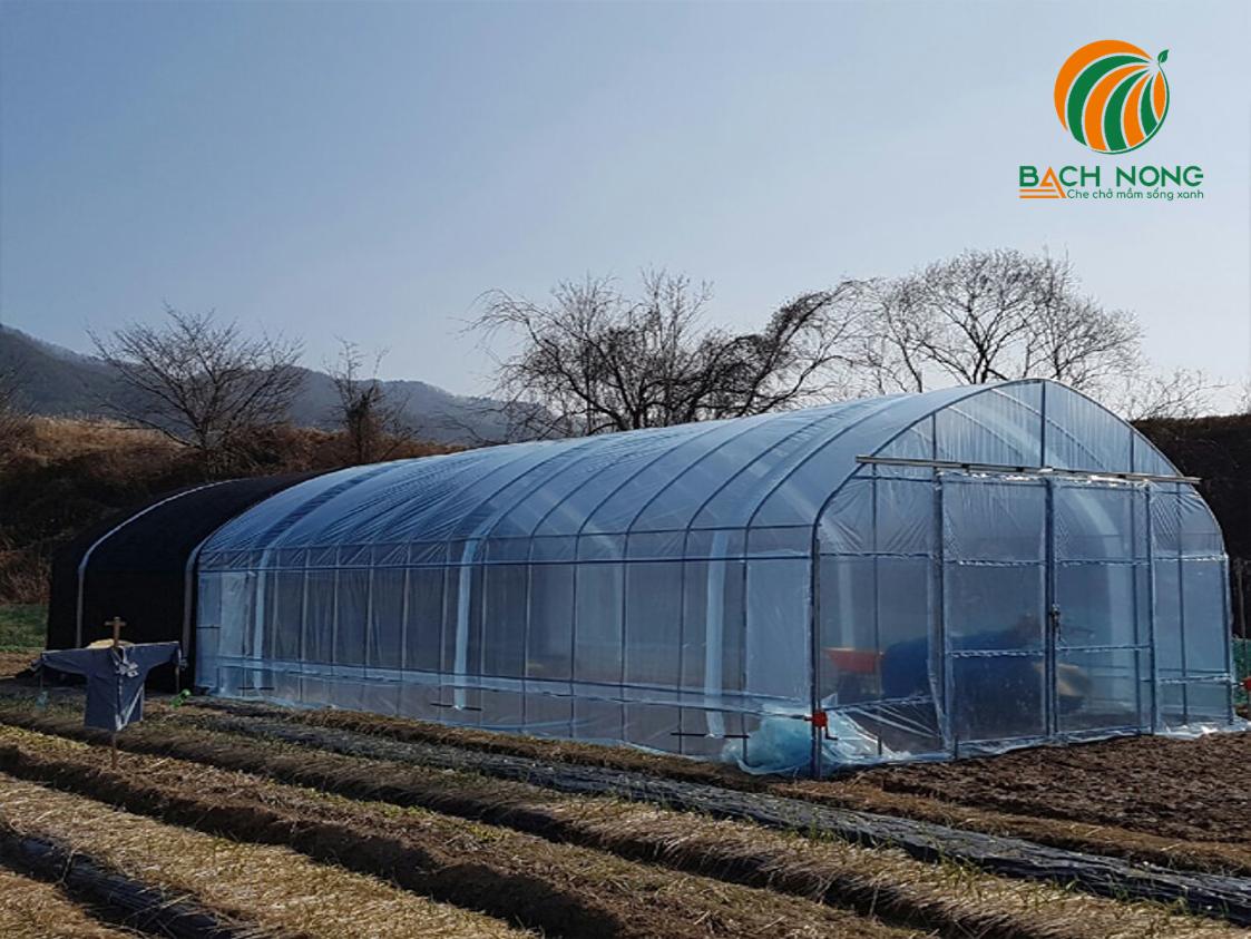 nhà lưới trồng rau lắp ráp
