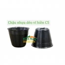 Chậu nhựa dẻo trồng cây vĩ hiền C5 (100 x 110)
